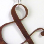 Ampersand in Bronze