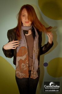 Recycled Maiden Tshirt Scarf