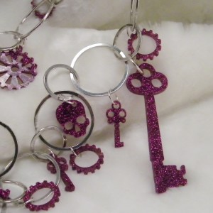 Multi Charms in Pink